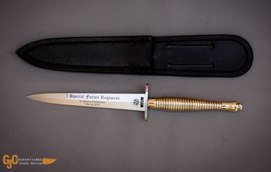 Custom made Fairbairn-Sykes commando daggers